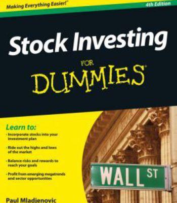 Stock Market For Beginners Pdf