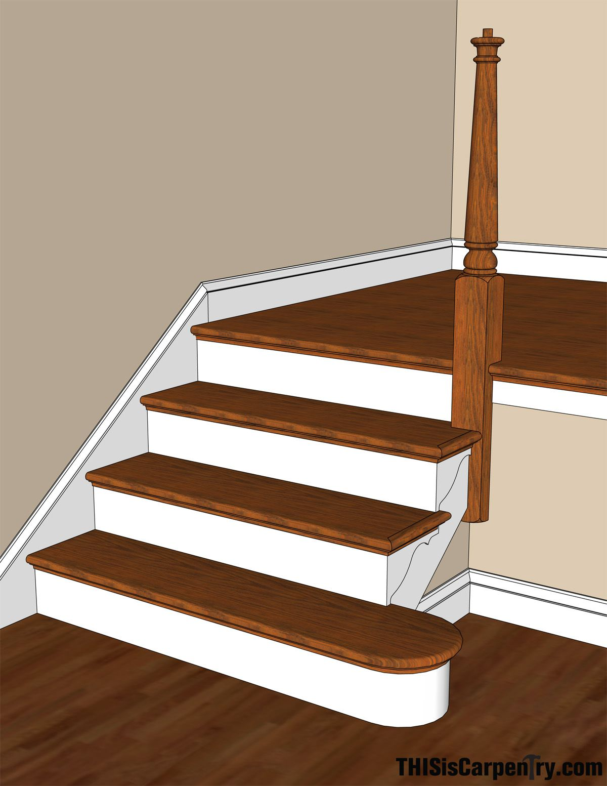 Basement Stair Trim: Pin By Sarah Friend On Reno/construction In 2019