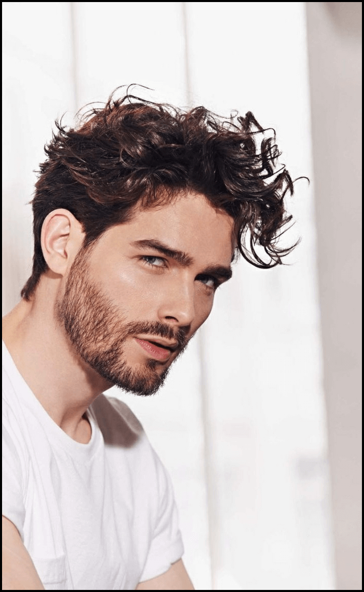 Schöne Locken Frisuren 2018 | Frisuren männer locken