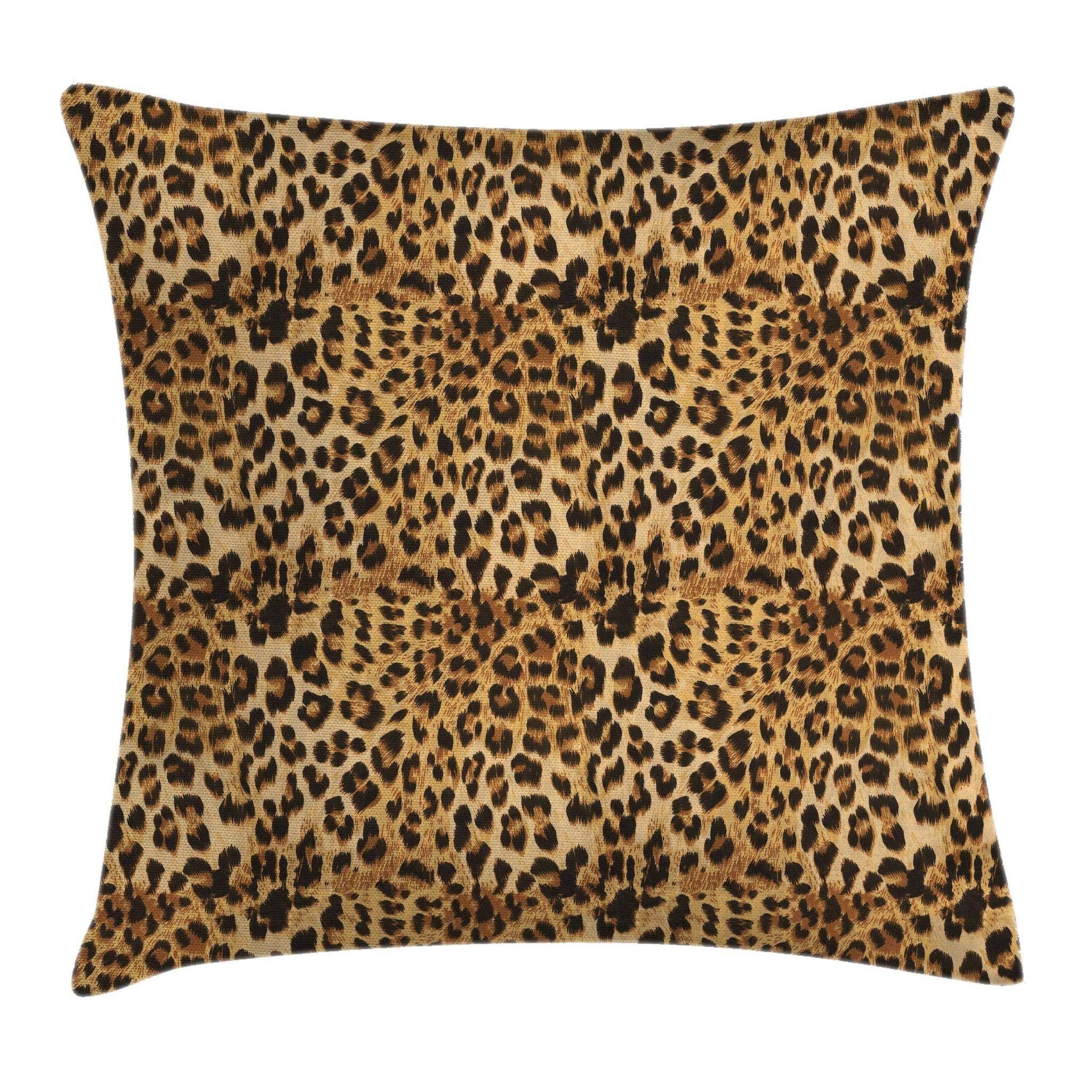 Ambesonne Brown Throw Pillow Cushion Cover Leopard Print Animal Skin Digital Pr Ambesonn Brown Throw Pillows Leopard Print Pillows Cushion Pillow Covers