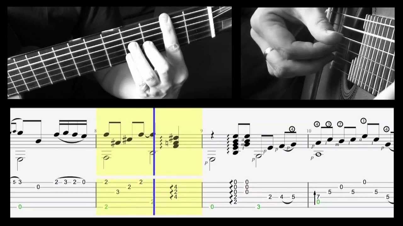 Tuto Piensa En Mi Intro Tablature Flamenco Pinterest