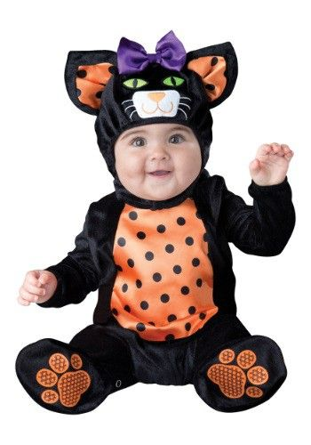 infant toddler mini meow cat costume - Baby Witch Costumes Halloween