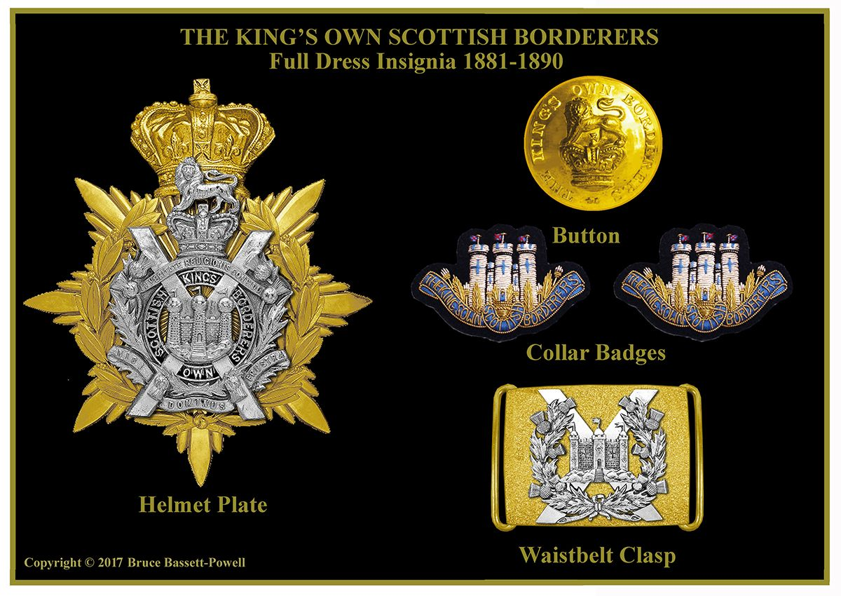 Badges & Insignia of the British Army 1881-1890