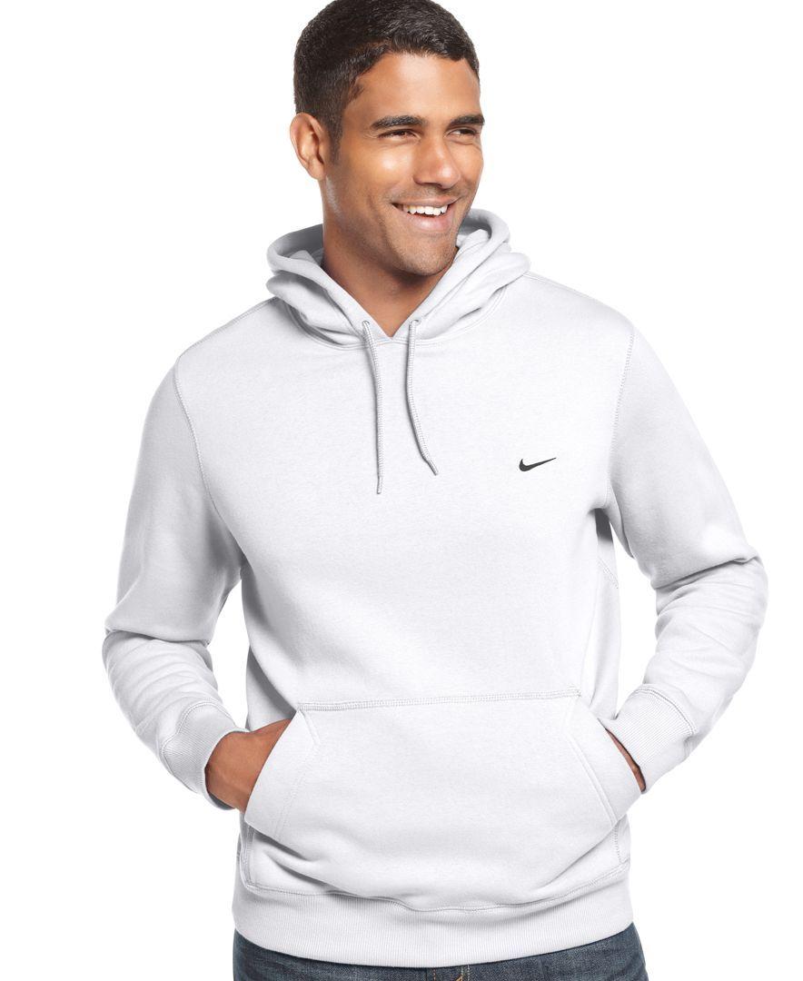 Nike Sweatshirt, Classic Pullover Fleece Hoodie