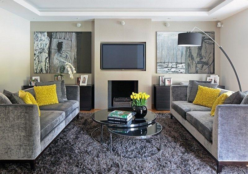 15 Decoracoes De Sala Com Sofa Cinza Imperdivel Com Imagens