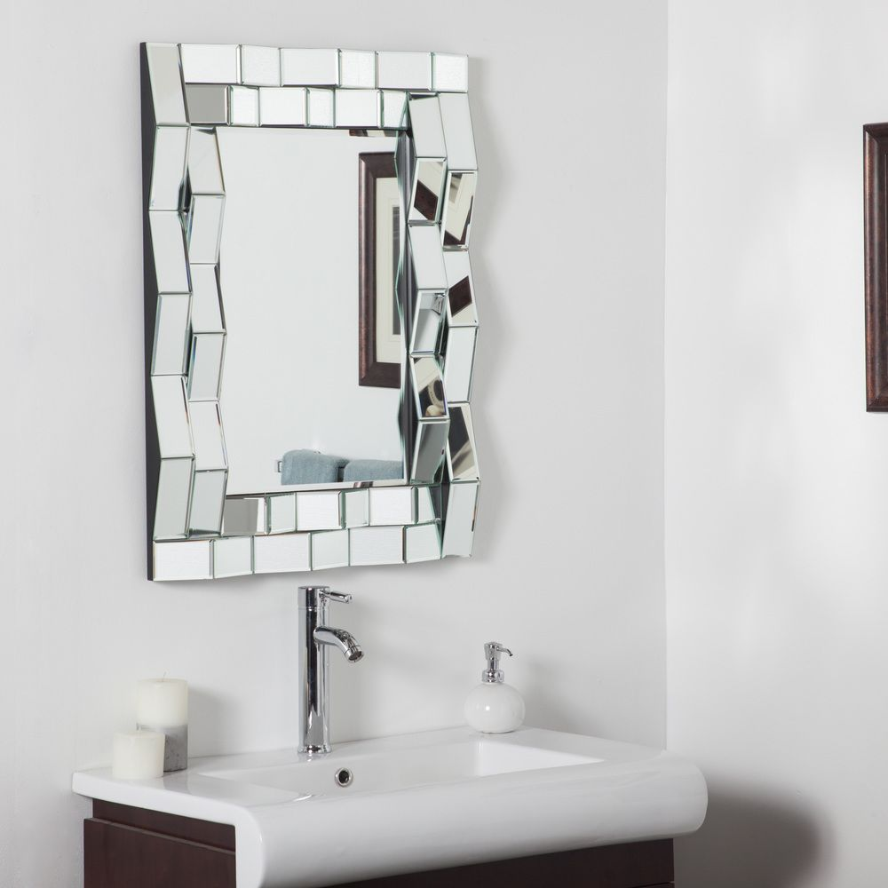 Iso Modern Bathroom Mirror | Overstock™ Shopping - Big Discounts on ...