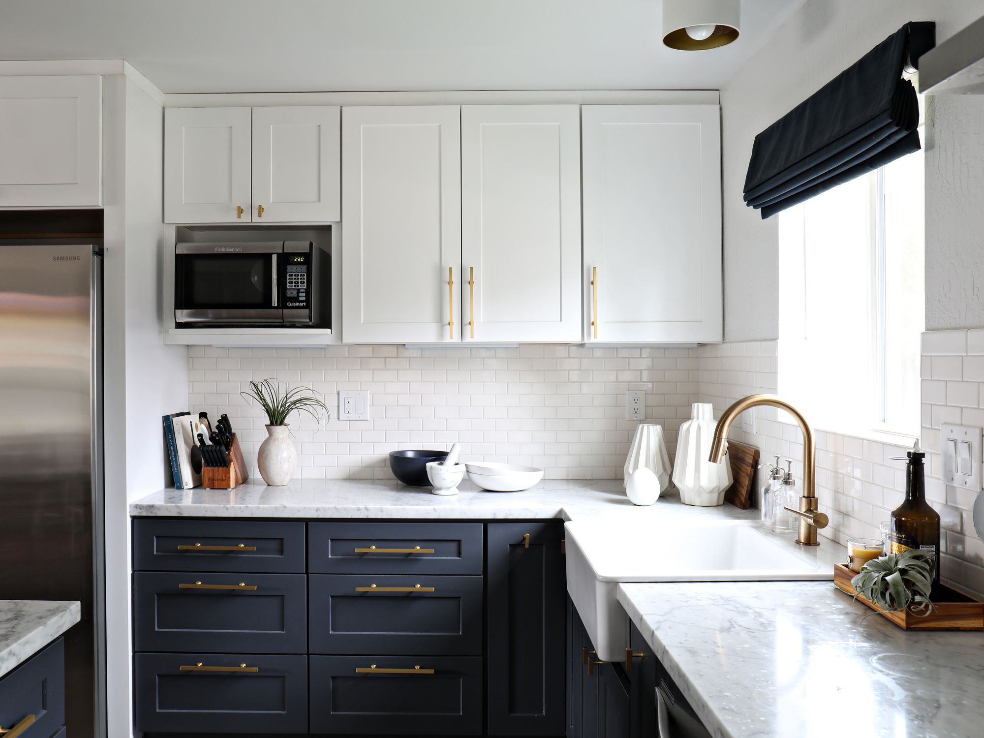 A Kitchen Change I can\'t shake | White subway tiles, Subway tiles ...
