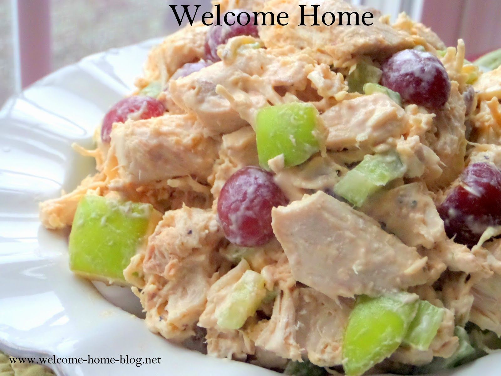 recipe: chicken macaroni salad with grapes [15]