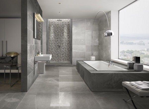 villeroy & boch cosmo vision ist ein tolles zusammenspiel aus ... - Badezimmer Fliesen Holzoptik Grau