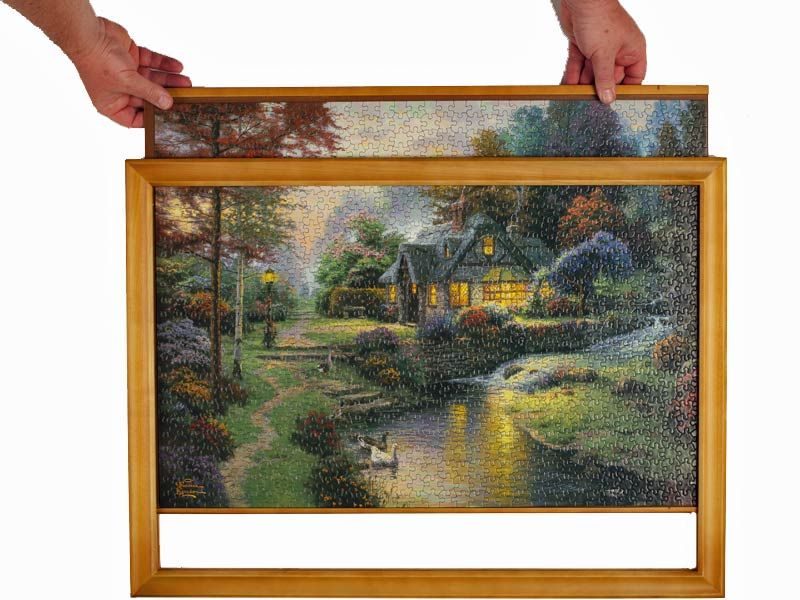 Jigsaw Puzzle Frames In Assorted Sizes Made From Wood Puzzle Frame Jigsaw Puzzle Crafts Diy Picture Frames