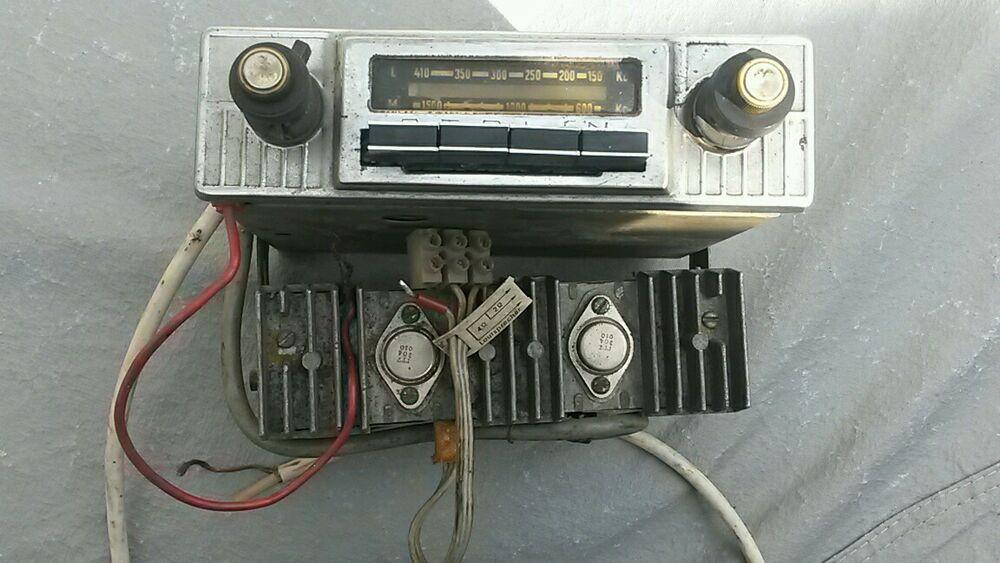Sponsored(eBay) VINTAGE CAR RADIO VOLGA GAZ 21 ZIM SOVIET
