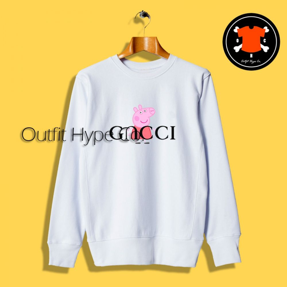 384332489a46 Peppa Pig Red Gucci Parody Sweatshirt #outfit #hypebeast #OutfitHype # Streetwear #Outfits