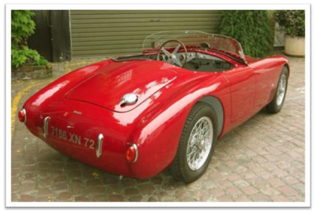 Car Profile Osca Mt 4 Vintage Cars