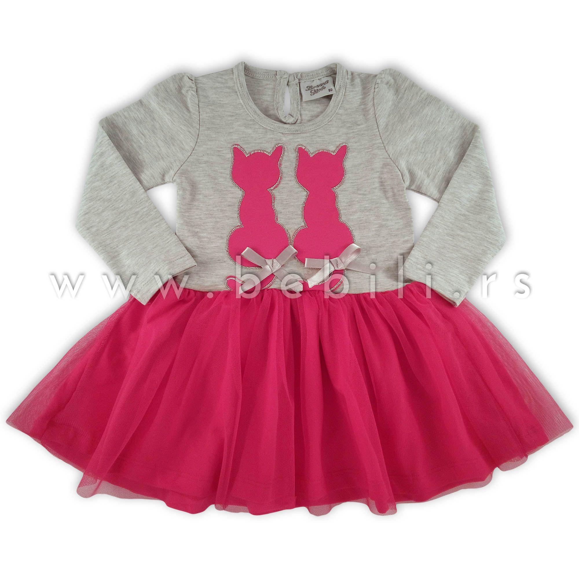 Haljina Za Devojcice Breeze Two Cats Fashion Bebe Skater Skirt