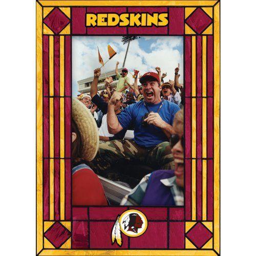 Washington Redskins Art Glass Frame by The Memory Company. $18.99 ...