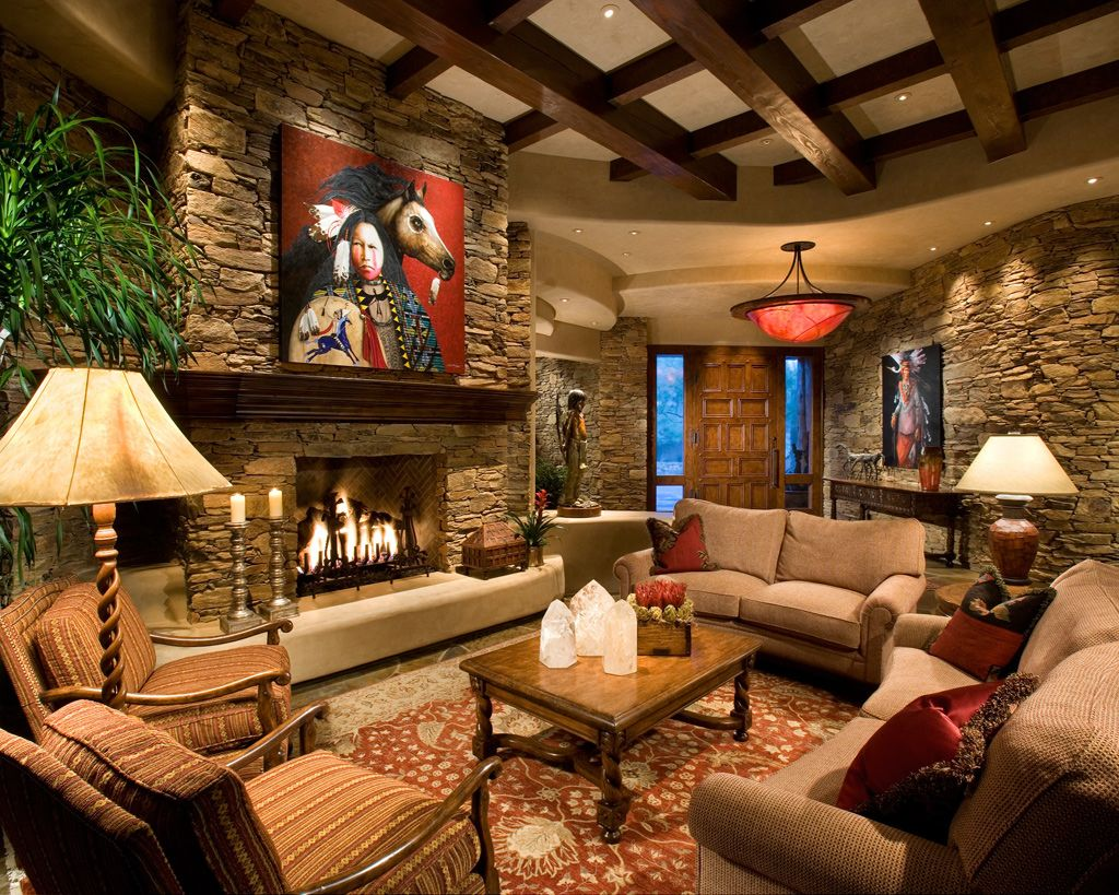 Livingroom Western Decor Ideas For Room Amusing Design ...