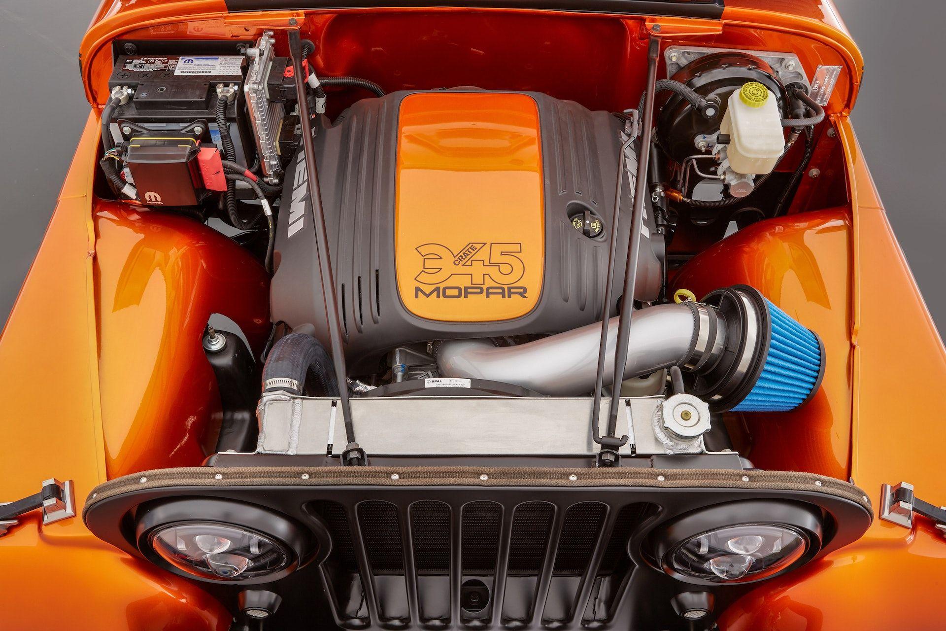 Mopar Will Sell You Its Sema Jeep Concept S Hemi V8 Swap Kit The