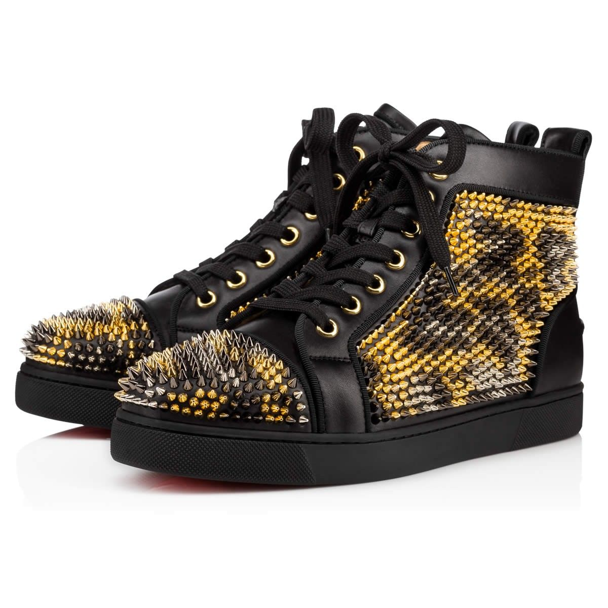 CHRISTIAN LOUBOUTIN Louis Spikes Leo Women S Flat Version Leopard Leather - Women  Shoes - Christian Louboutin.  christianlouboutin  shoes   c356fb81f8