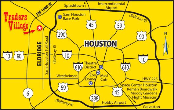 Traders Village Houston Map   City information, Houston map ...