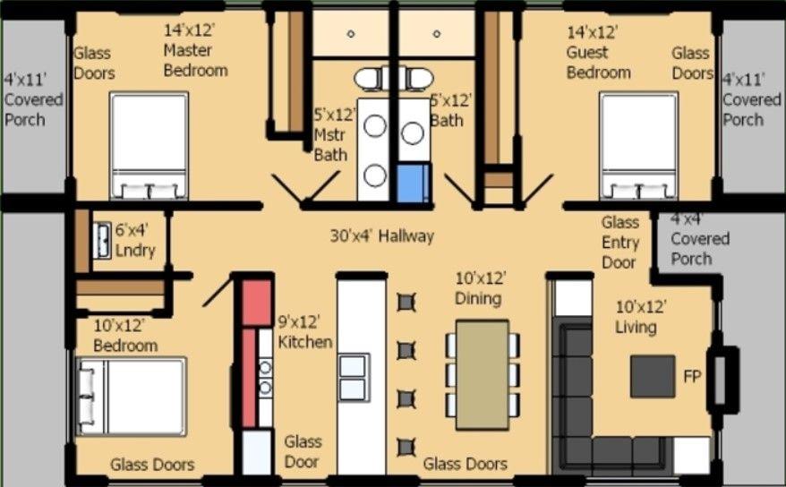 planos de casas de una planta rectangular casas pinterest planos de casas planos y casas