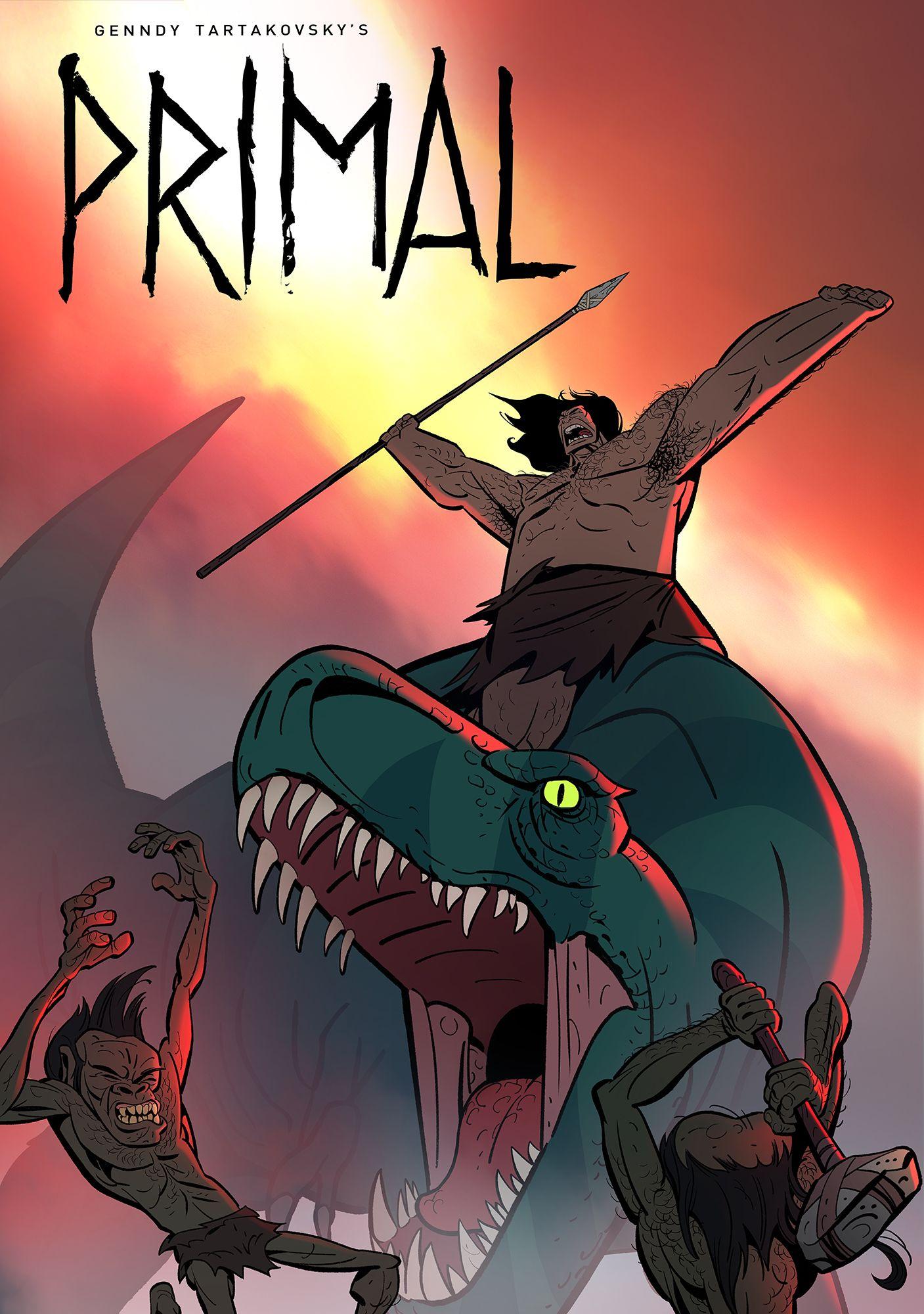 Primal (marketed as Genndy Tartakovsky's Primal) is an