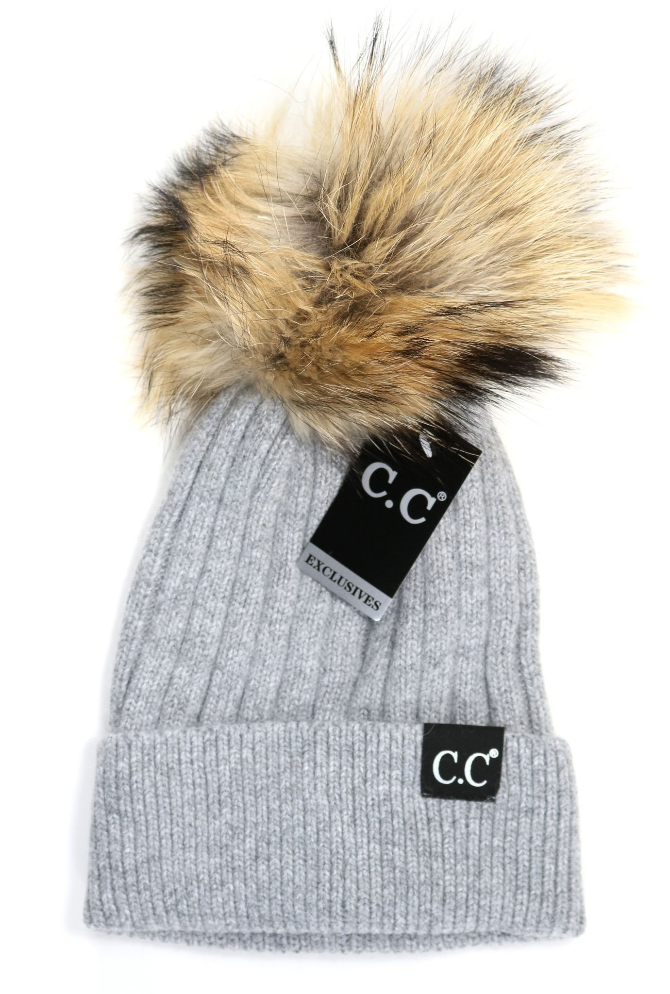 CC Exclusive - Black Label Special Edition Solid Ribbed Knit Beanie ... 11fa2e29a76