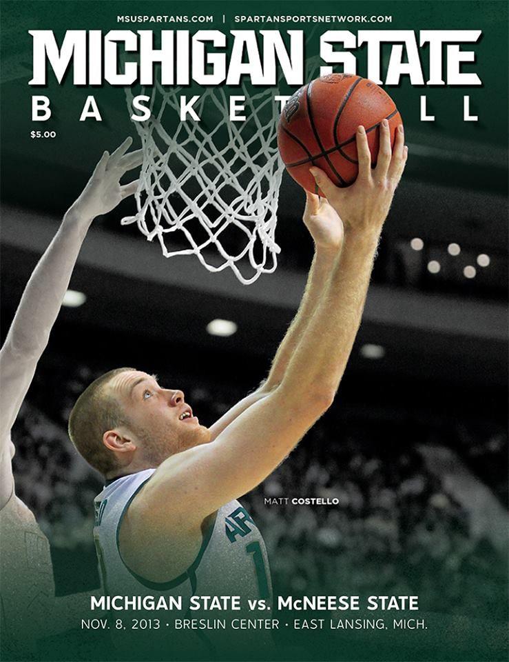 Msu Men S Basketball Official Game Day Program Grab Yours Game 1 Tomorrow Night Fri 11 8 Msu Spartans Basketball Msu Basketball Michigan State