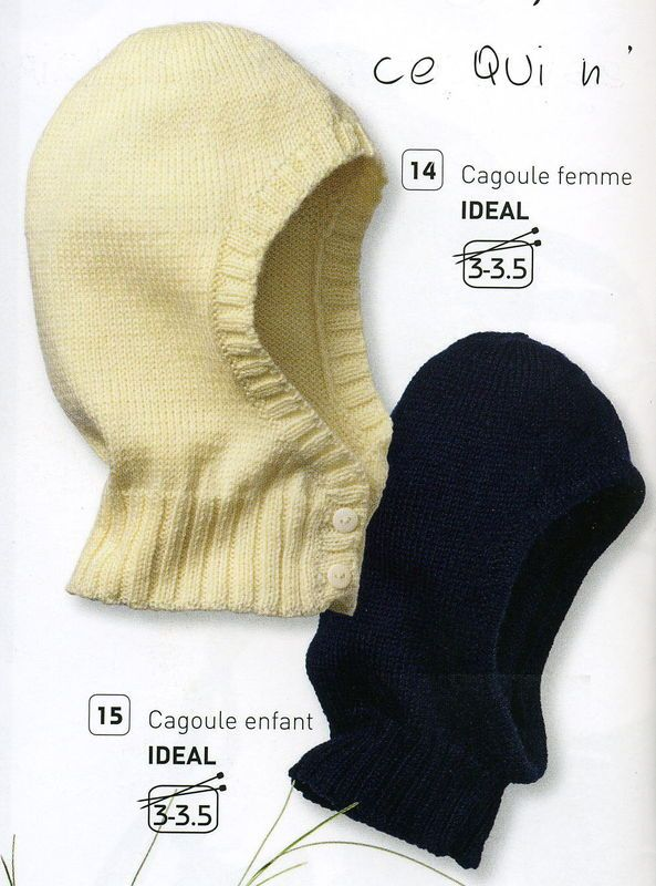 d0d061fdde06 comment tricoter une cagoule   tricot   Pinterest   Tricot, Cagoule ...