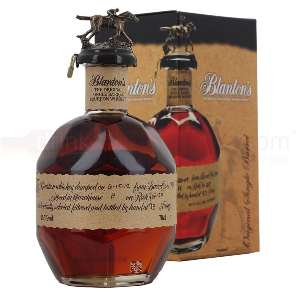 Blanton S Fine Wine And Spirits Kentucky Straight Bourbon Whiskey Single Barrel Bourbon