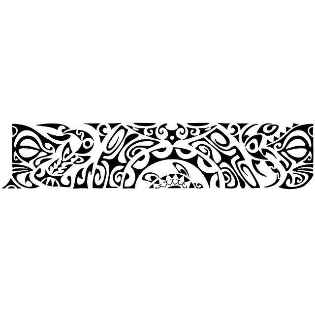 Maori Tattoo Bracelete Tatuagem Polinesia Bracelete Maori