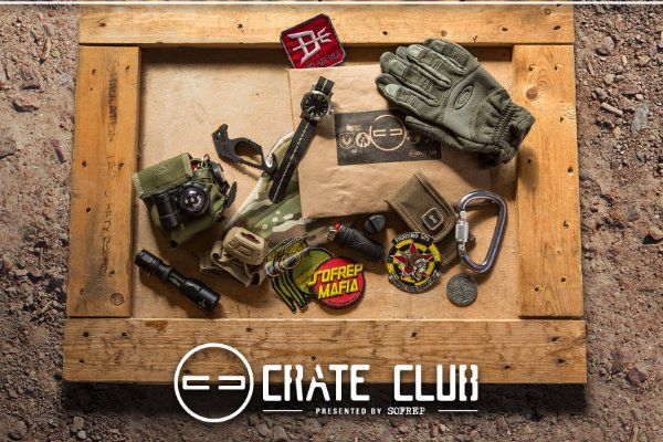 The Crate Club Monthly Tactical Gear Subscription Cratejoy