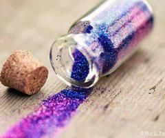#rainbowglitter