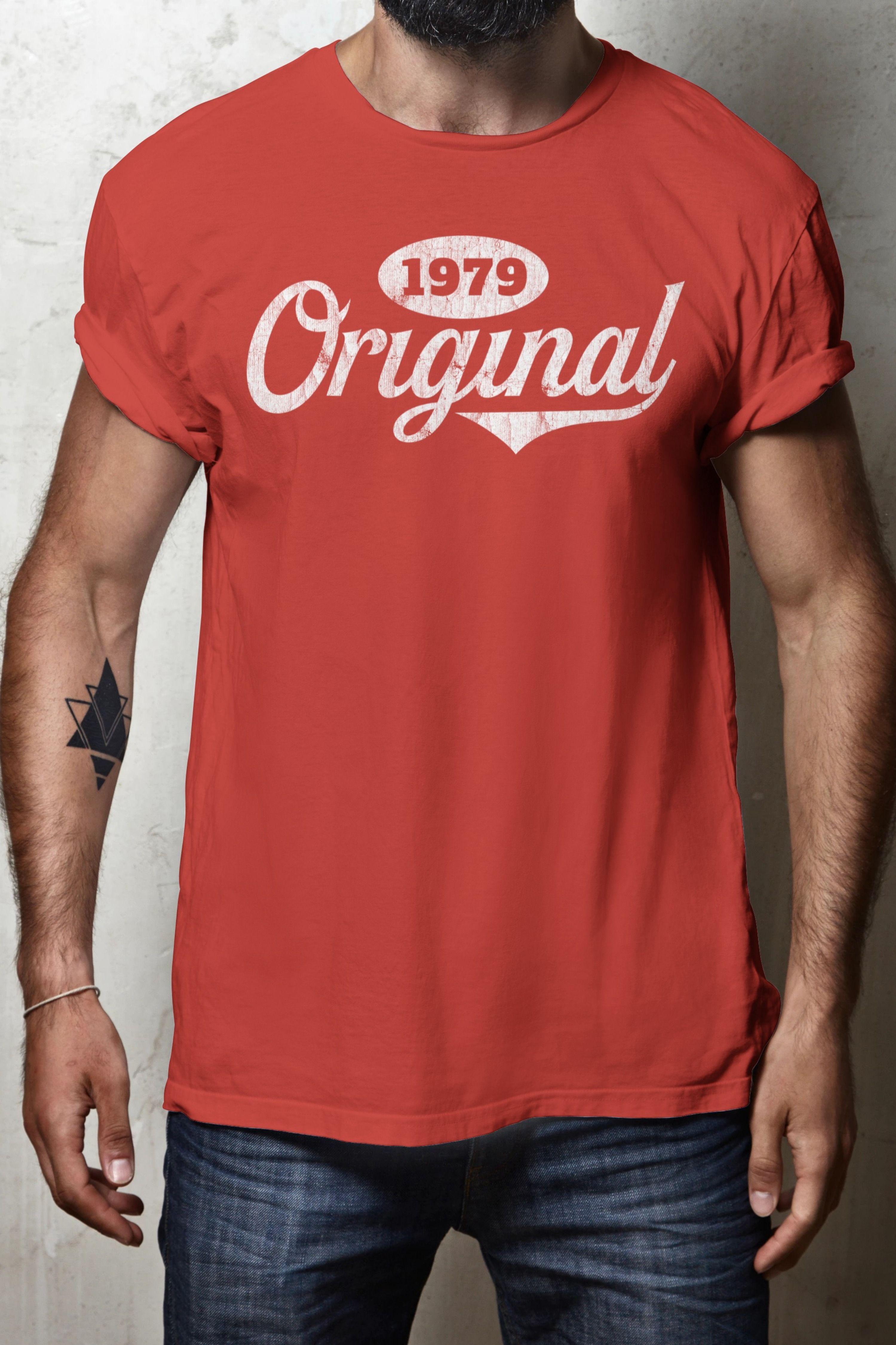 40th birthday gift 1979 original vintage tshirt funny
