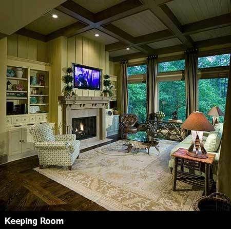 home floor plans with keeping rooms. Plan 15651GE  Award Winning Gable Roof Masterpiece Keeping room