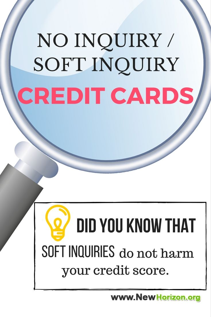 Soft pull credit cards