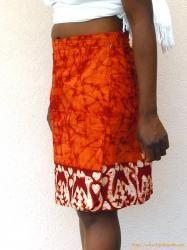 Chemise homme en batik | Chemises africaines ->FasoBoutik : artisanat africain
