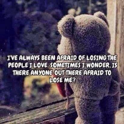 Ever Been Afraid OF losing The one You Love? - Sometimes I Wonder! - www.beautyandyou.biz  #love #beautyandyou