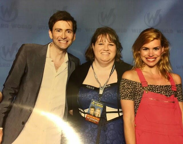 David and Billie at the Comic Con St. Louis