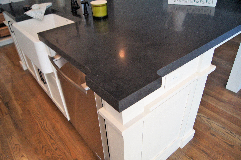 Black Absolute Granite Honed Straight Edge Granite Edges