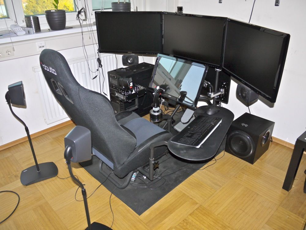 Review Obutto Ozone Gaming Cockpit Simhq Forums