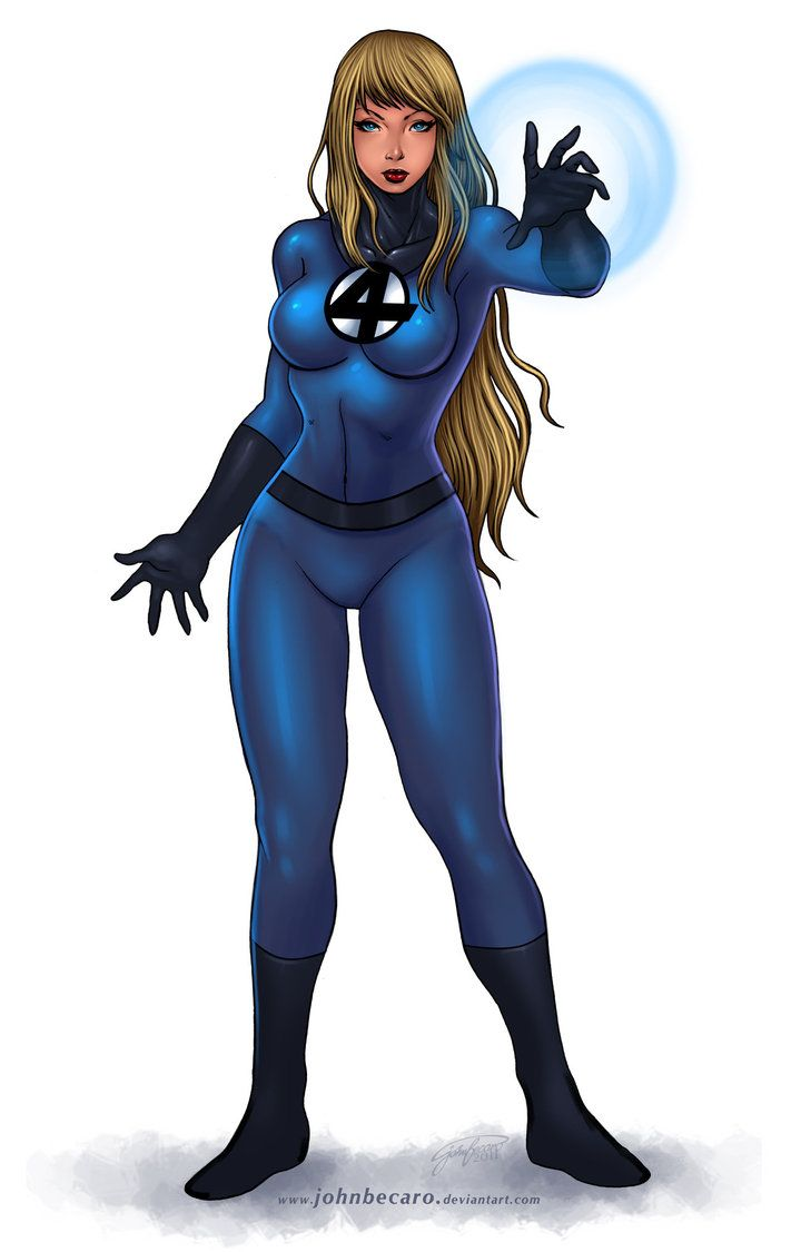 Marvel Invisible Woman Hot   Commission: Invisible Woman 2 by johnbecaro   MARVEL   Pinterest ...