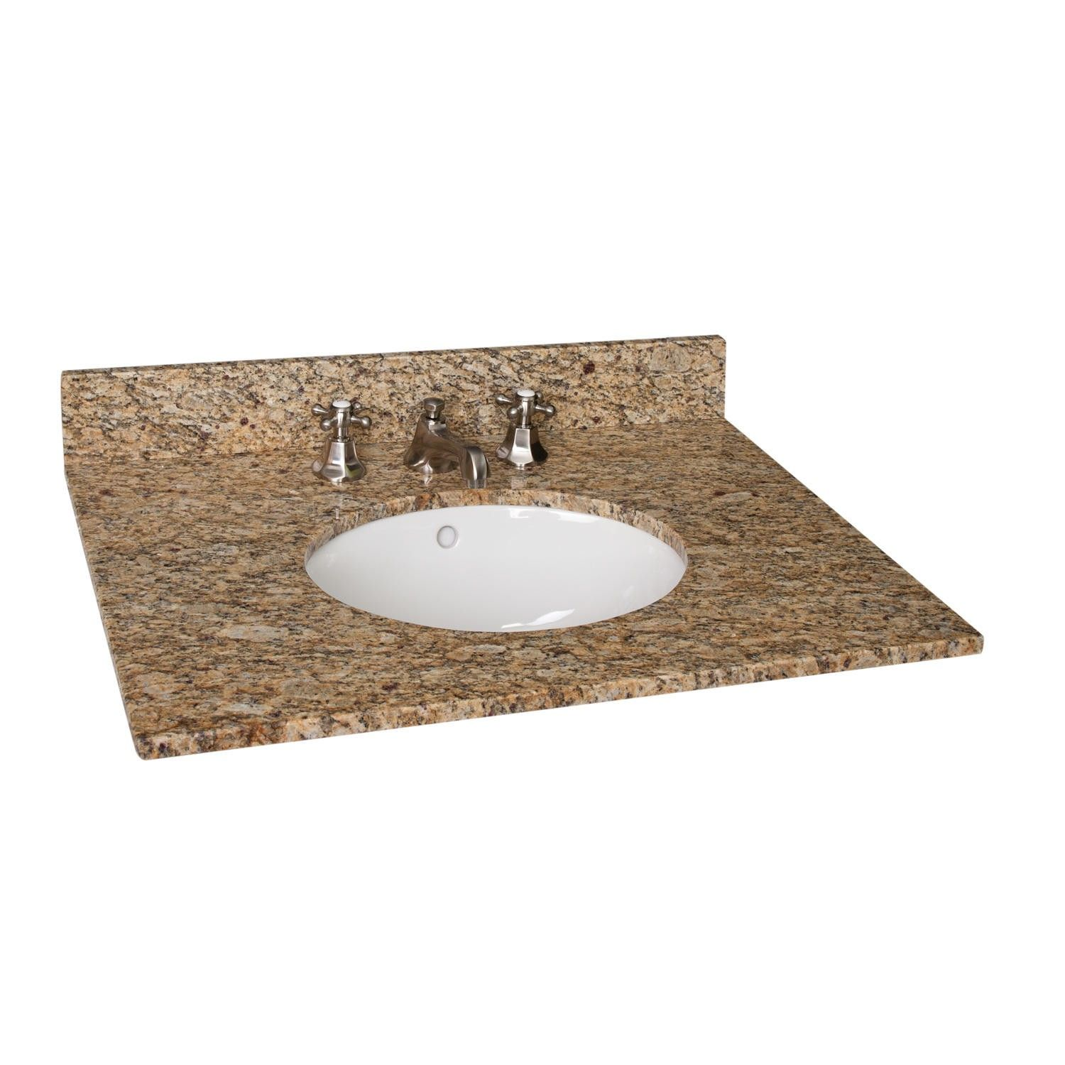 31 X 22 Granite Vanity Top With Undermount Sink