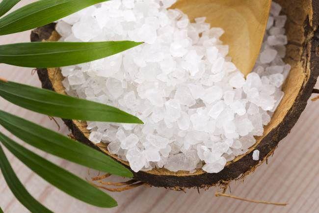 Sal marina para reducir la celulitis