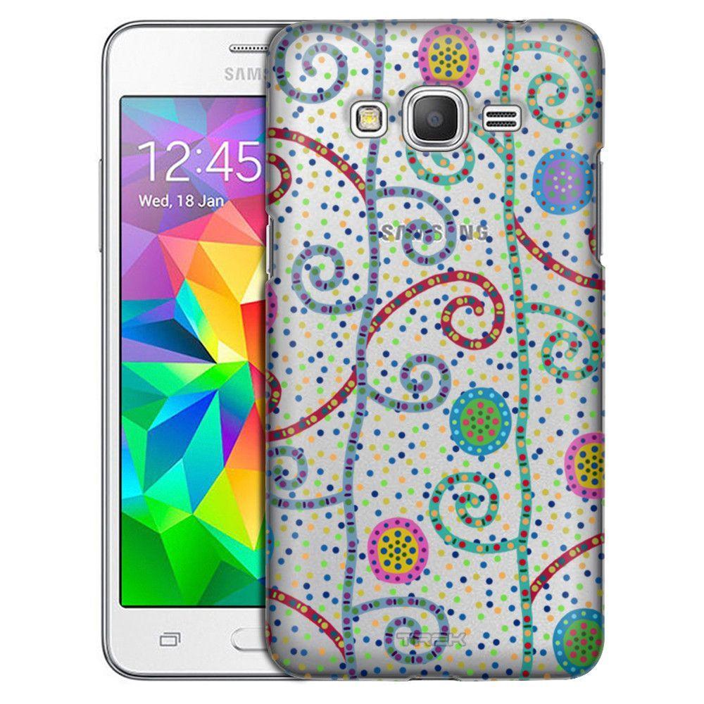 Samsung Grand Prime Rainbow Tree Dots Case