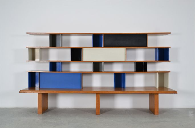 bookcase by Charlotte Perriand