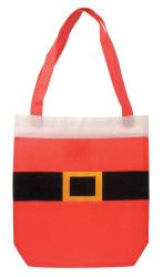 Cute Santa Suit Tote Gift Bag For The Holidays - Choose to buy 2, 4, 6, or 8  #Seasonal #Holiday #Tote