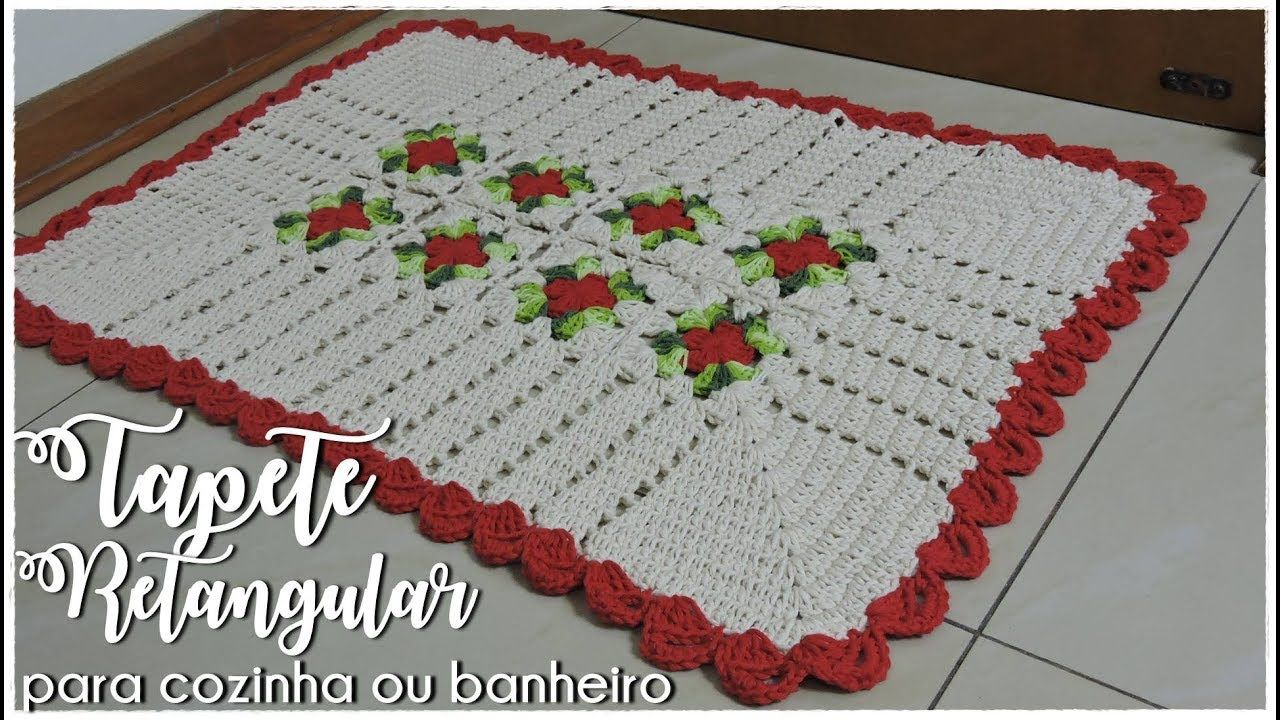 Pin de Adriana de Paula en Crochet World | Pinterest | Tapetes de ...