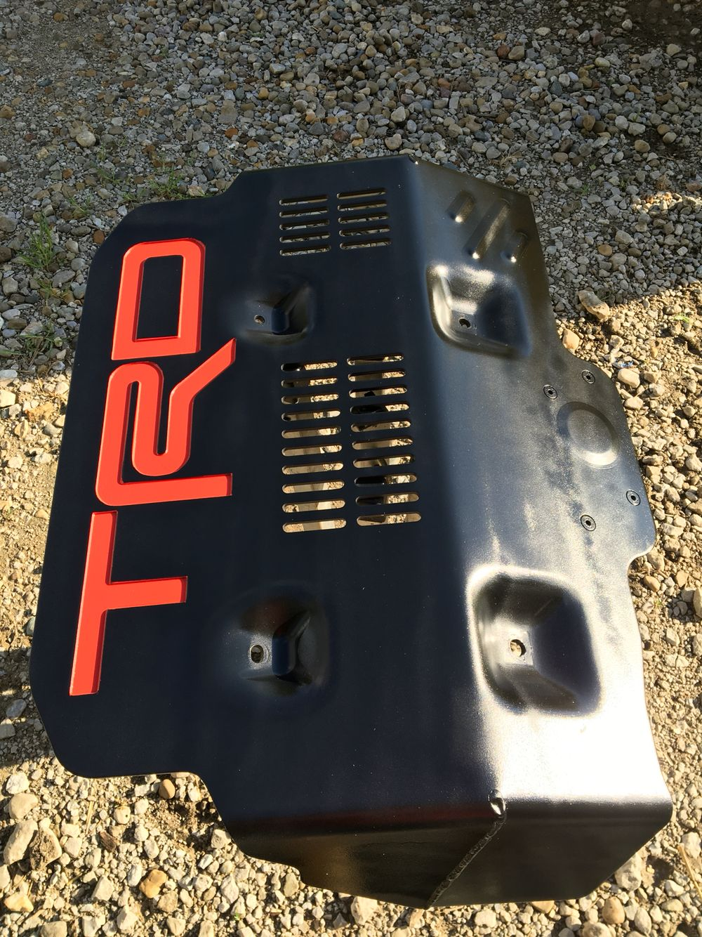 Toyota Tundra Trd Pro >> Just finished up painting my TRD skid plate....looks 100% ...