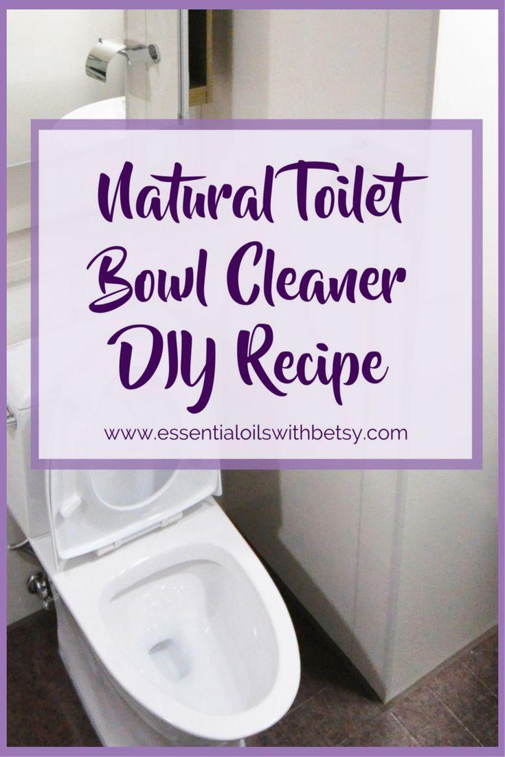 Natural Toilet Bowl Cleaner Diy Recipe Toilet Bowl Cleaner Toilet Bowl Cleaner Diy Diy Cleaners
