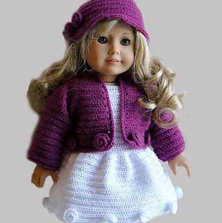 Free Crochet Patterns For 18 American Girl Doll Clothes - Pattern ...
